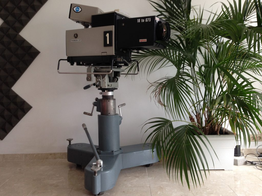 Caméra Thomson-CSF TTV 1515