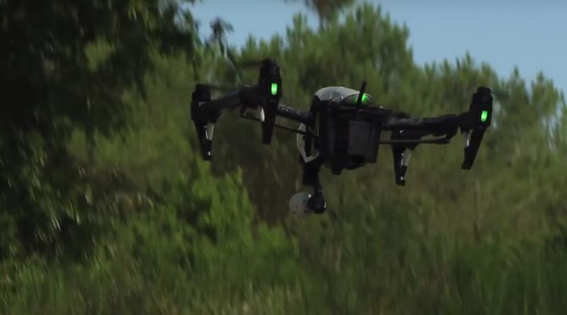 drone-pompier Morbihan