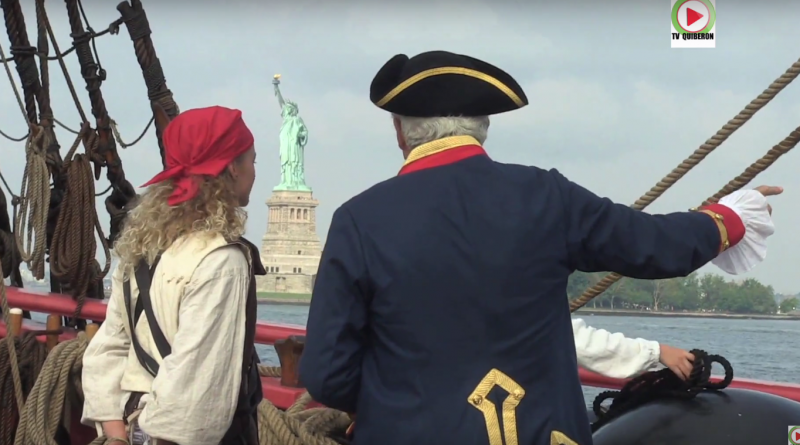 L'Hermione arrive à New-York - Ile d'Aix TV