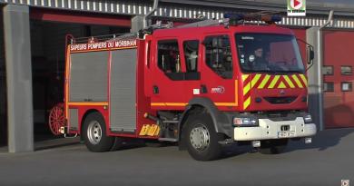 QUIBERON: Les Pompiers fetent Sainte-Barbe