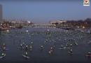 PARIS: Ils font du Surf sur la Seine