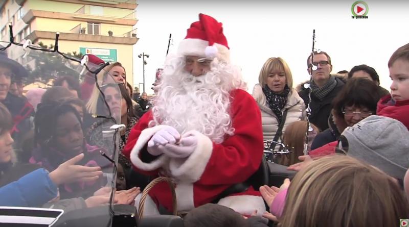 Pere-Noel à Quiberon en Bretagne - TV Quiberon