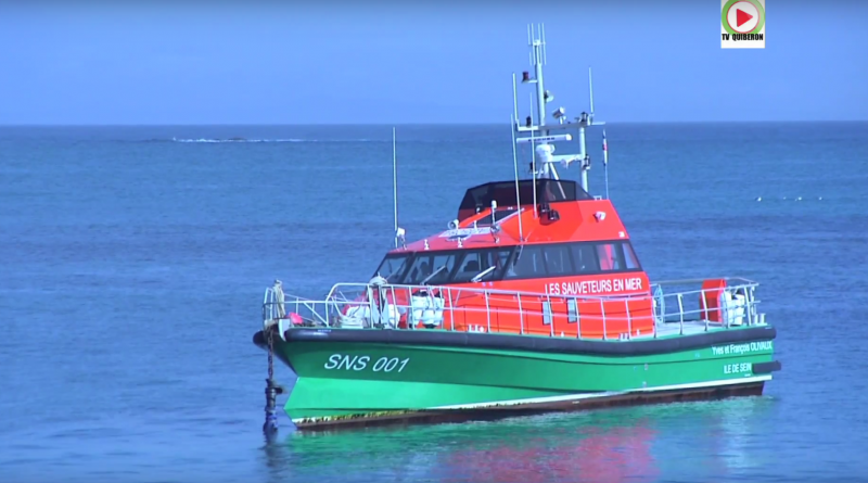 Bretagne Télé: La SNS 001 à l'Ile de Sein