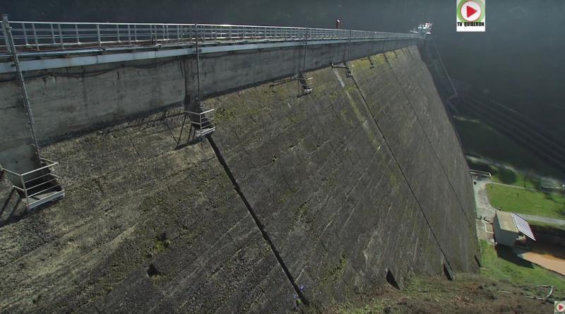 Bretagne Télé: Alerte au barrage de Guerlédan