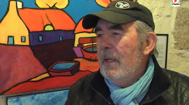 Bretagne Télé: Alain-Charles Richer Peintre-Reporter