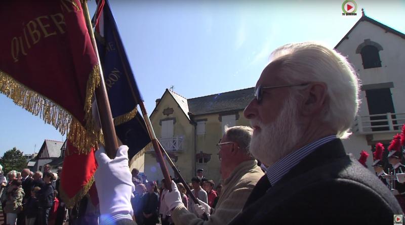 QUIBERON: Ceremonie Armistice 8 Mai 1945