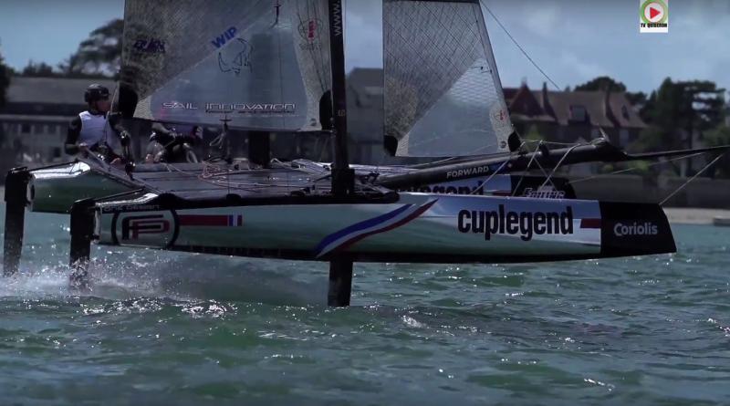 Tim Mourniac gagne la Foiling Bay - TV Quiberon 24/7