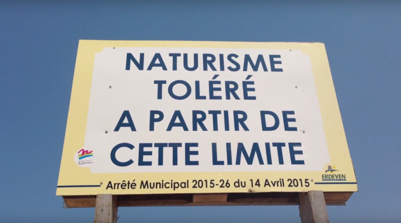 Bretagne Télé: Naturisme et Canicule à Erdeven