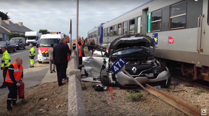 Collision Ferroviaire 'Tire-Bouchon' - TV Quiberon 24/7