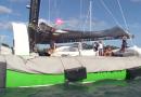 Record Atlantique Nord: Retour de Coville - La-Trinite-sur-mer Télé