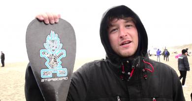 Bretagne Télé: Surf SUP Ben Carpentier en Bronze