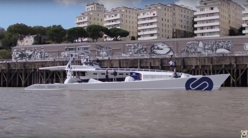Energy Observer navire hydrogene - Nantes Bretagne Télé