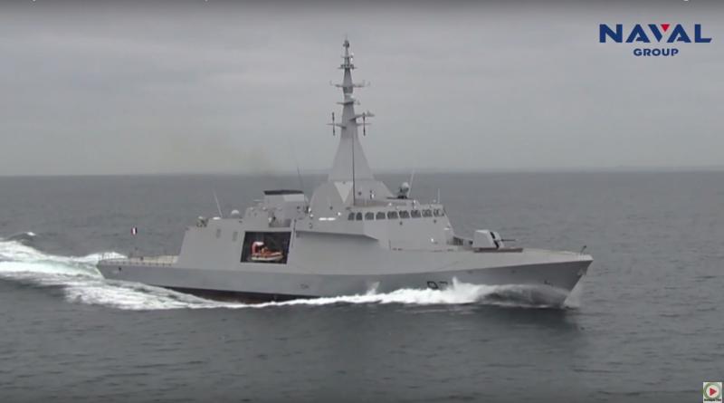 Bretagne Télé: Naval Group livre la 1ere corvette Gowind®2500