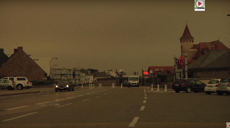 Ouragan Ophélia ciel d'Apocalypse - TV Quiberon 24/7
