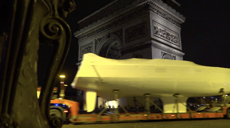 Nautic 2017: Arrivée des Bateaux - Paris Bretagne Télé