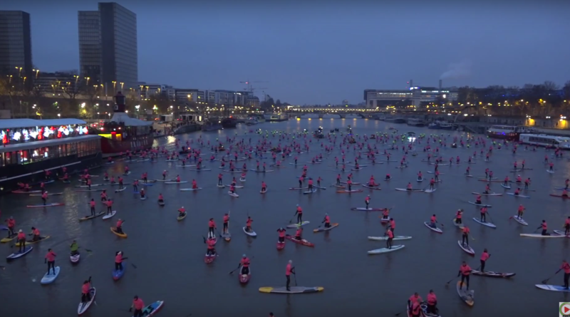 Nautic 2017: Sup Paris Crossing - Paris Bretagne Télé