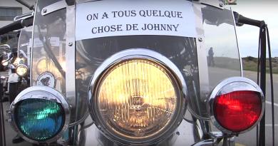 """""""Kiberen Biker"""" Hommage Johnny Hallyday - TV Quiberon 24/7"""