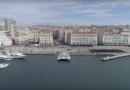Le Navire Hydrogene quitte le Vieux-Port - Marseille Bretagne Télé