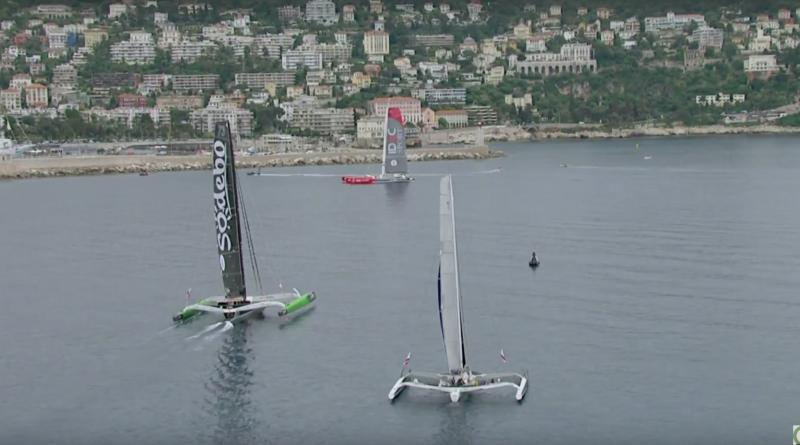 Nice Ultimed 2018: Départ Course - Marseille Bretagne Télé
