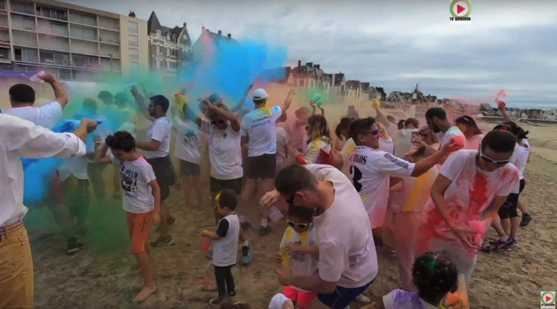 Color Run© Grande-Plage - TV Quiberon 24/7