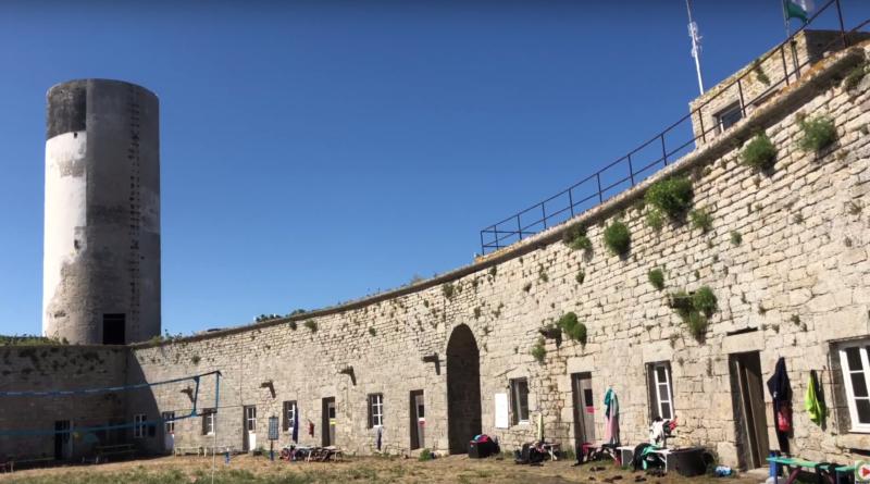 Les Glénan: Fort Cigogne - Bretagne Télé