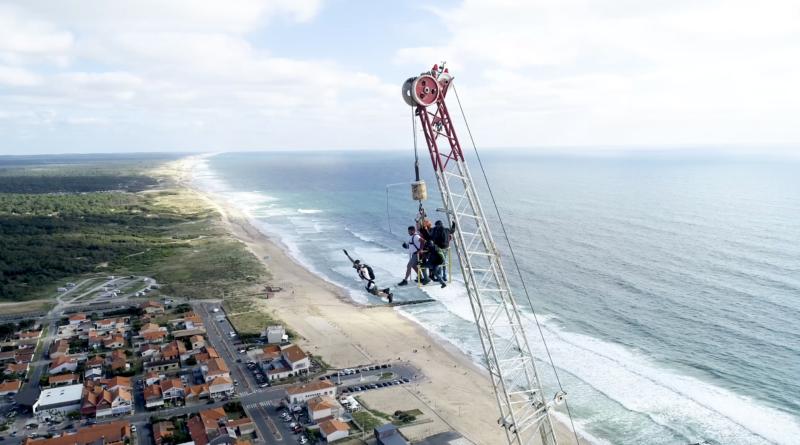 Montalivet:Extreme Parachutisme BASE Jump - Bretagne Télé