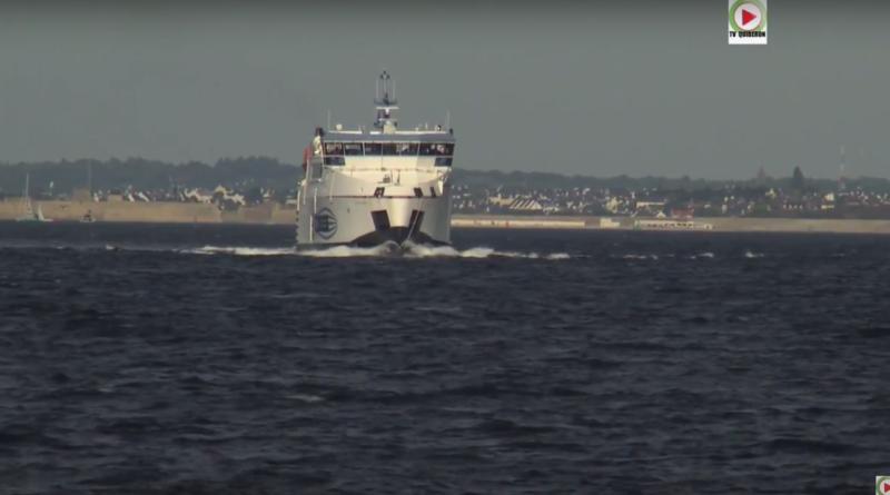 Groix: Le Ferry Breizh Nevez 1 - Bretagne Télé