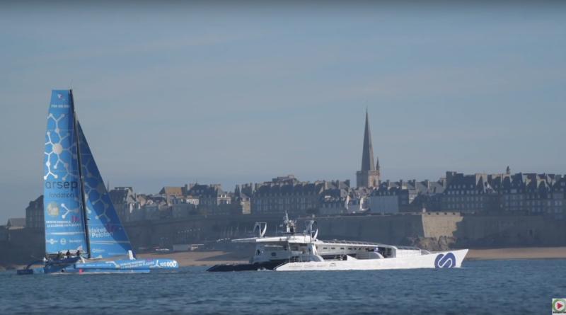 Saint-Malo: Retour Energy Observer - Bretagne Télé