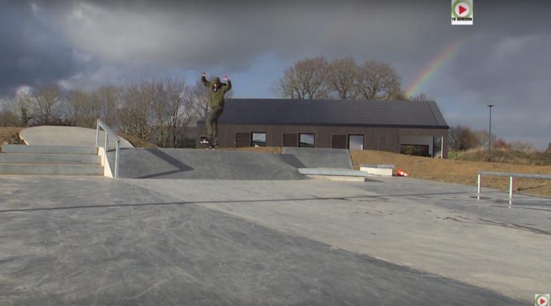 Locoal-Mendon: Nouveau Skatepark - Bretagne Télé