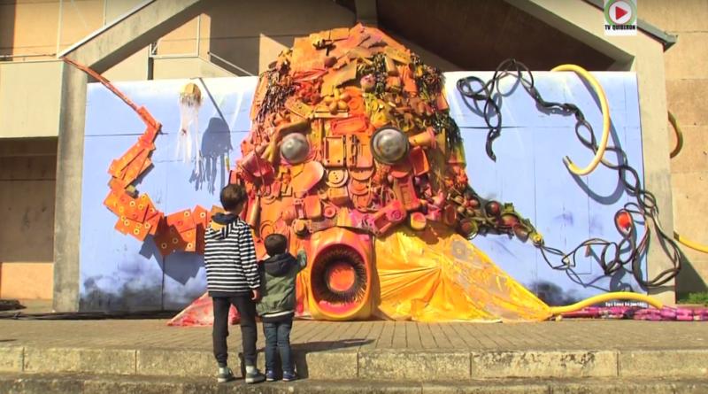 Auray: Kraken Street Art - Bretagne Télé