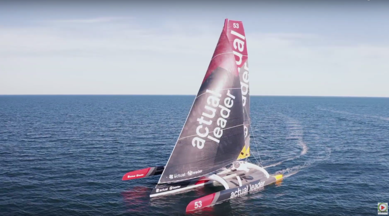 Maxi-Trimaran Actual Leader - TV Quiberon 24/7