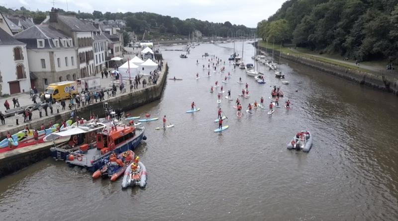 Auray: Ils marchent sur l'eau - Bretagne Télé