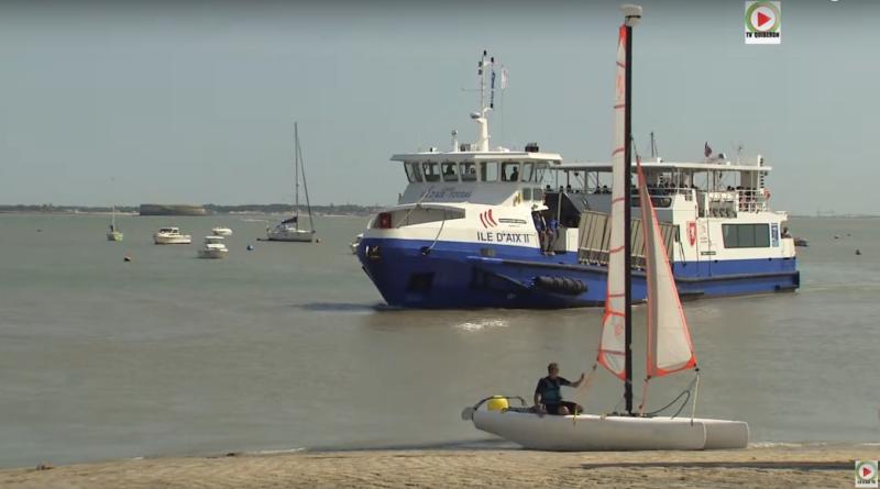 Le Port en été - Ile d'Aix TV