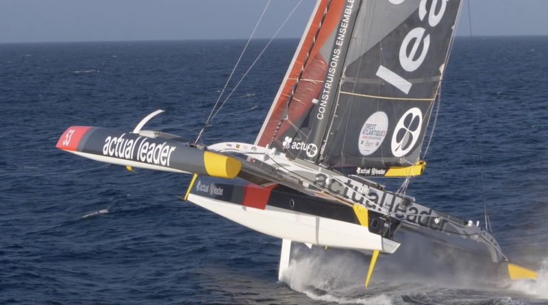 Maxi-Trimaran Actual Leader - TV Quiberon Sailing