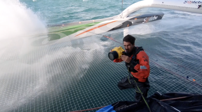 Martin Kéruzoré Mediaman Sodebo 3 - TV Quiberon Sailing
