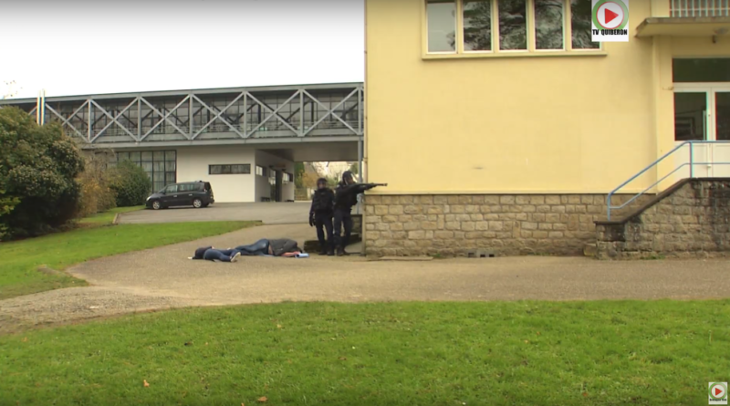 Pontivy: Exercice Tuerie de masse au Lycée