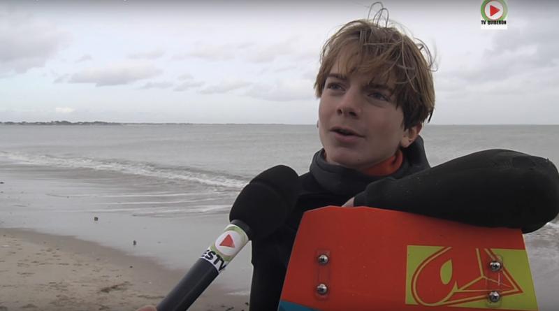 Pole Espoir Kitesurf Bretagne - TV Quiberon