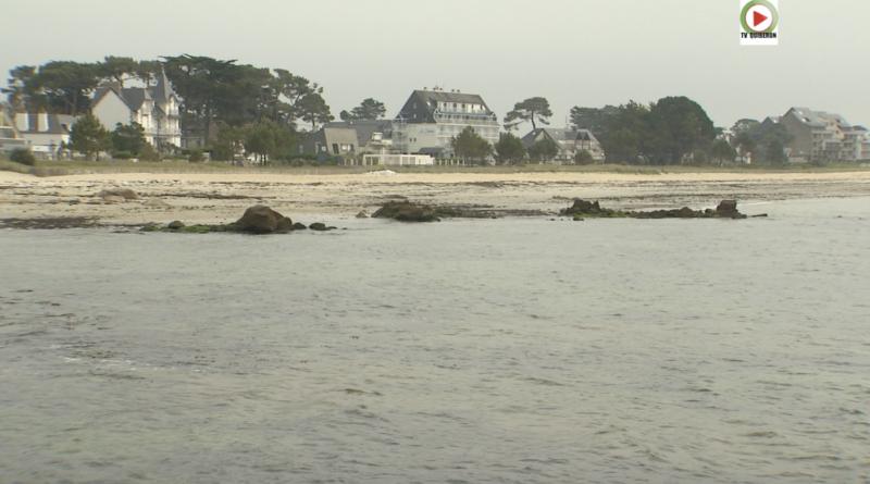 Covid-19: Confinement à Carnac-Plage - Bretagne Télé
