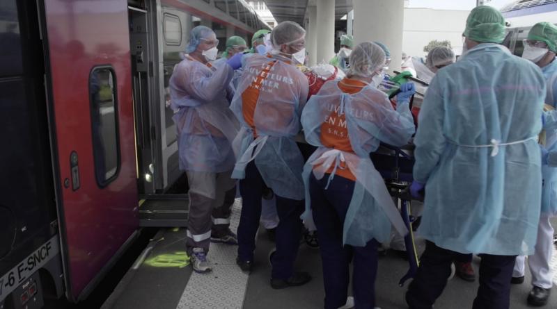 Covid-19- 5 Patients transférés à Brest - Bretagne Télé