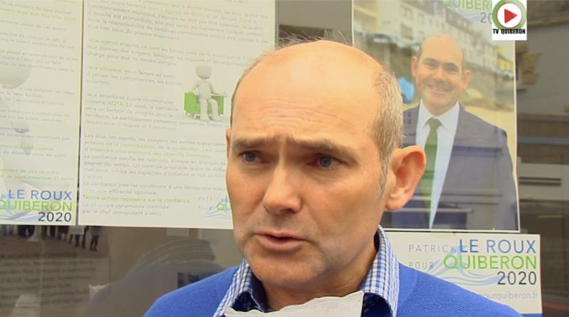 Municipales 2020 - Patrick Le Roux - Pour Quiberon - TV Quiberon
