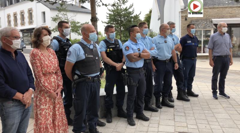 Renforts sécurité Gendarmerie - TV Quiberon