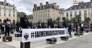 Rennes: Manif des Discothèques - Bretagne Télé