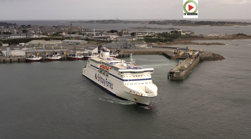Roscoff: Le Sauvetage de Brittany Ferries - Bretagne Télé