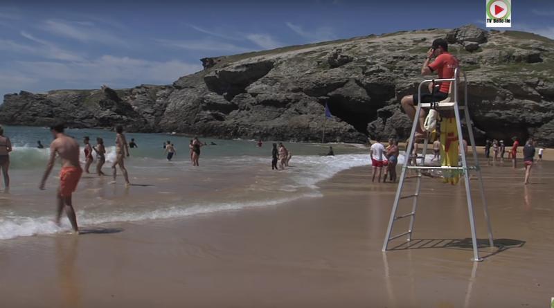 Belle-ile-en-mer plage de Donnant Bretagne