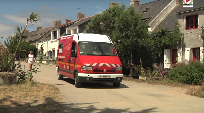 VSAV Pompiers ile de Hoedic