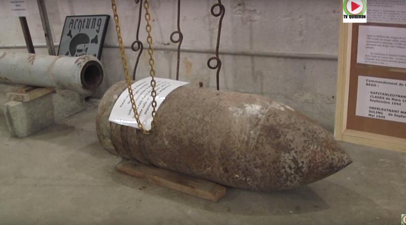 Plouharnel visite d'un Bunker restauré - TV Quiberon 24/7