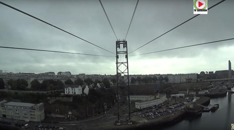 A bord du téléphérique de Brest - Bretagne Télé