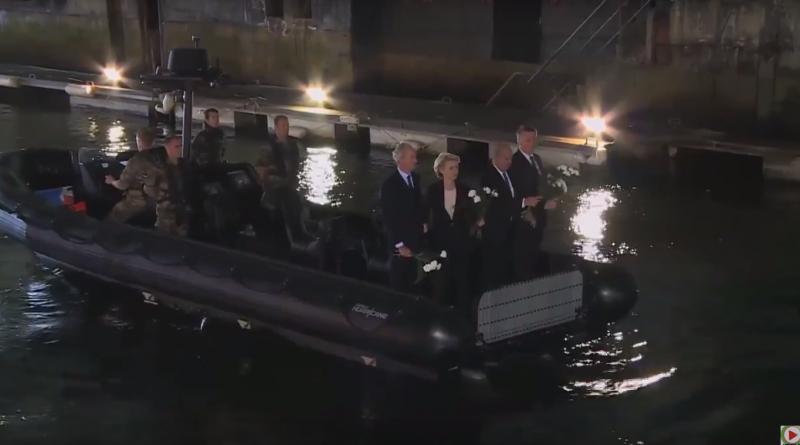 Lorient: Geste mémoriel des ministres de la Défense