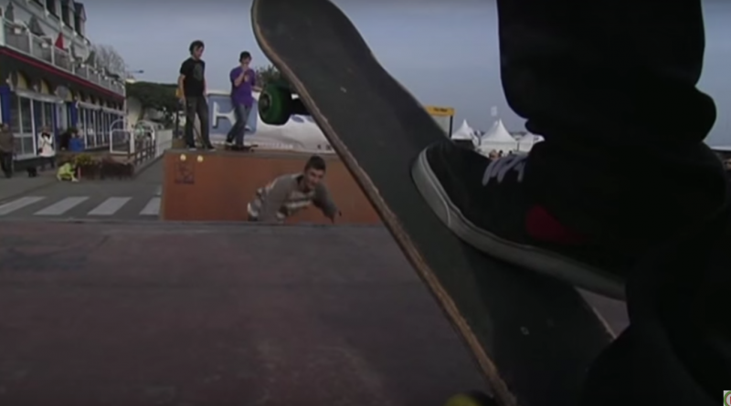 Skateboarding Carnac-Plage