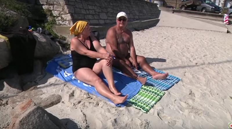 Carnac, les séniors en vacances